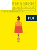 Buskers Bern Programmheft 2014 – online Version