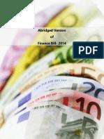 Finance Bill 2014