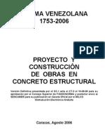 1753-2006 Proyecto y Contruccion de Obras en Concreto