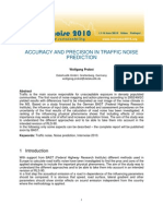 Paper AccuracyTrafficNoisePrediction Probst IN10