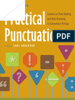 Practical punctuation lessons on Rule making and Rule breaking in Elementary writing