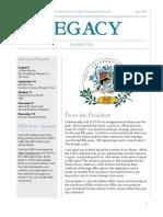 SGES Legacy Newsletter - July 2014