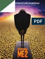 Digital Booklet - Despicable Me 2 (O