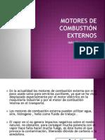 Motores de Combustión Externos Impacto Ambiental