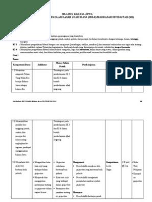 Bahasa Jawa Kelas 4 Revisi Sekolah