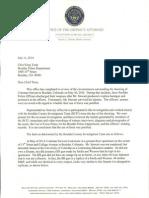 DA Stan Garnett's letter on officer-involved shooting