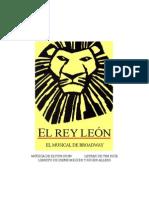El Rey Leon - Libreto