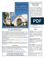 Santa Sophia Bulletin 22 Jun 2014