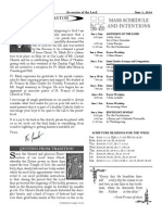 Santa Sophia Bulletin 1 Jun 2014
