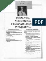 Conflicto Negociaci n y Comportamiento Grupal