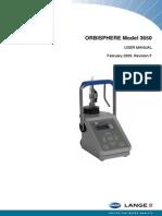 Orbisphere 3650 User Manual
