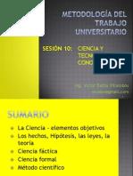 Sesion10 [1ºE] Ciencia y Tecnologia -Conocimiento