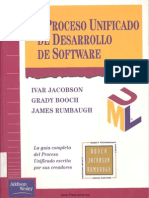 El Proceso Unificado de Desarrollo de Sofware