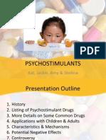 psychostimulants presentation