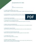 10 Dicas de Planejamento de Aula