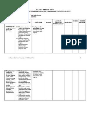 Kunci Jawaban Buku Kirtya Basa Kelas 8 Revisi Id