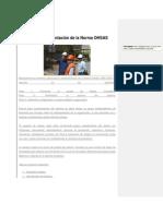 Fases Para La Implantación de La Norma OHSAS 18001