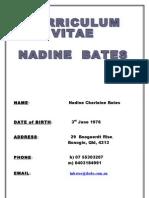 Nadine Resume