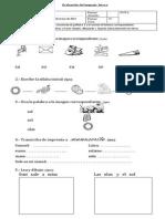 Evaluación Letra S