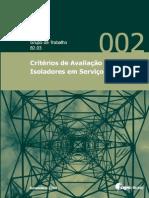 Criterio de Avaliação de Isoladores Em Serviço