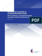 (Re)Emerging Aid Donors in the Reshaping World Order