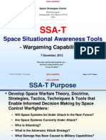 Space Policy-Theoretical Space Wargame Software-Unclassified