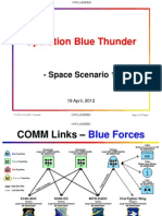 Space Policy-Theoretical Space Scenario D-Unclassified