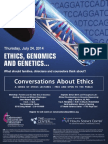 Converdations About Ethics July 2014