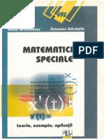 Matematici Speciale, by Brinzanescu, Stanasila, 1998