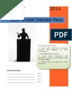 debate pack 2014  revised