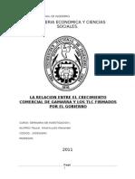 90678910 La Relacion Entre El Crecimiento Comercial en Gamarra y Los Tlc Firmados Por El Gobierno