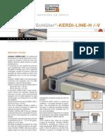 Schlueter Db 8 7 Kerdi Line h Pt 0911