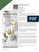 Helado Pistacho