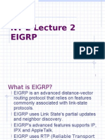 Nt 2 Lecture 2 Eigrp