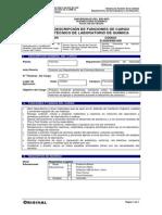 D-20204000-005 Técnico Laboratorio de Química