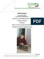 Design Contest Report - FPGA Climatic 2