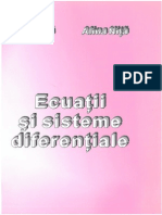 Ecuatii si Sisteme Diferentiale, by Nita, 2000