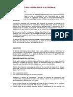 Estudio Hidrologico y de Drenaje.