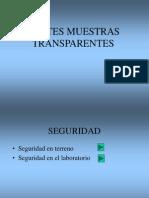 Preparacion de Muestras Cortes Transparentes