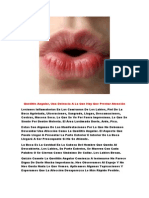 Labios Partidos, Estomatitis Candidiasica, Porque Sale Boquera, Estomatitis Ulcerativa