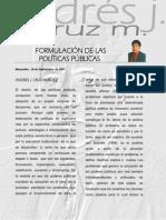 Formulacion de Las Politicas Publicas[1]