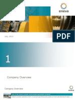 ENEVA Corporate Presentation ? July 2014