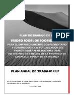 Plan Anual de Trabajo Ulf