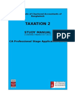 Tax -II Study Manual