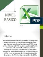 Excel Nivel Basico