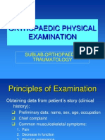 Opt - Orthopaedic Physical Examination 2