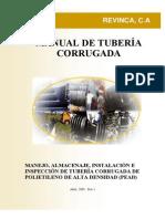 TUBERIA CORRUGADA PEAD