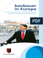 Die Sudetendeutschen - Brückenbauer in Europa