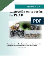 Inspeccion de Tuberias Pead