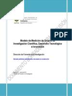 Doc Modelo Medición Grupos Junio 2012 Borrador Discusión